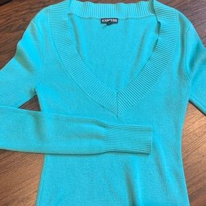 NWOT Express v-neck sweater small